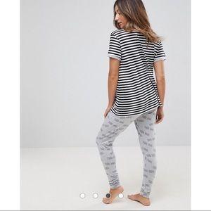 aa5c0d785c ASOS Maternity Intimates   Sleepwear - ASOS MATERNITY Tres Cool Banana  Legging Pajama Set